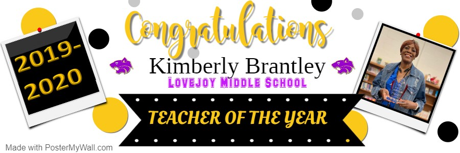 LMS Teacher of the Year